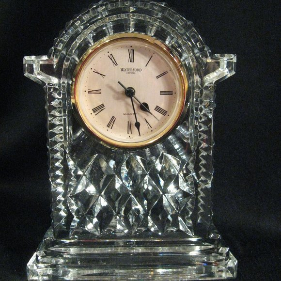 WATERFORD Other - WATERFORD CARRIAGE CLOCK - STUNNINGLY BEAUTIFUL!!